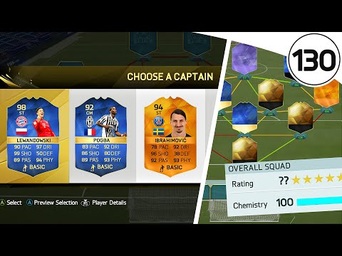 INSANE HYBRID TEAM! FUT DRAFT TO GLORY #130 - FIFA 16 Ultimate Team