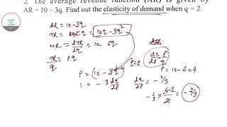 ECONOMICS HONOURS MATHEMATICAL ECONOMICS PAST YEAR SOLUTIONS TO BSC(I) 4