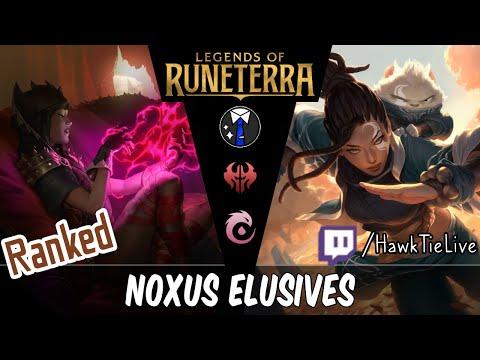 Noxus Elusives: Another Great Championless Deck! L Legends Of Runeterra LoR