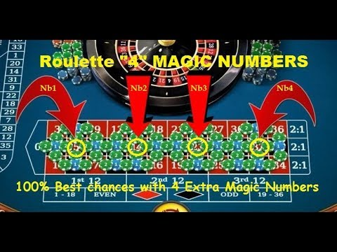 Roulette Strategy to win with 4 MAGIC NUMBERS, 100% Best Chances to win improved !