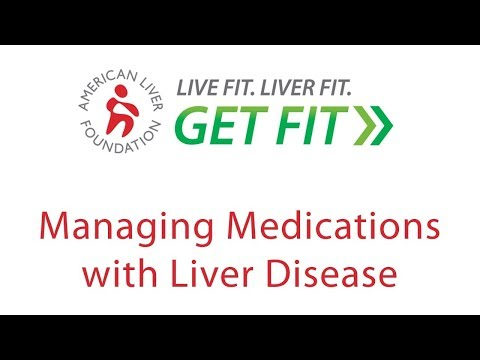 Managing Medications with Liver Disease