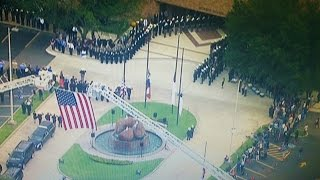 Deputy Darren Goforth's Funeral 9-4-15