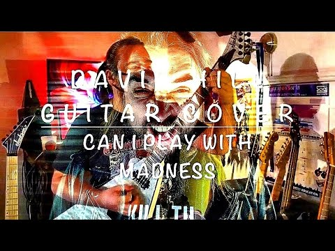 David Hill- Can I Play With Madness Guitar Cover (Iron Maiden) Jackson RR24Q/ Line 6 Helix