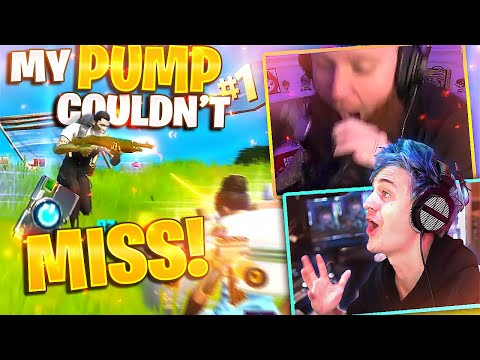 MY PUMP COULDN'T MISS! 3 PUMPS IN A ROW! FT. NINJA