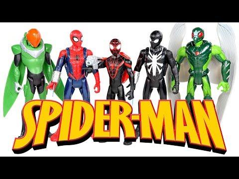 Marvel Spiderman Marvel's Vulture Quick Shot 6 Inch Figure Hasbro 2017
