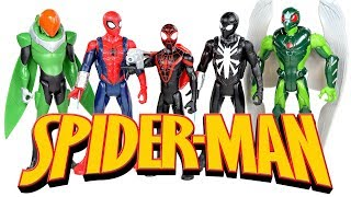 All New Marvel Spider-Man 6-inch Action Figures w/ Kid Arachnid & Vulture