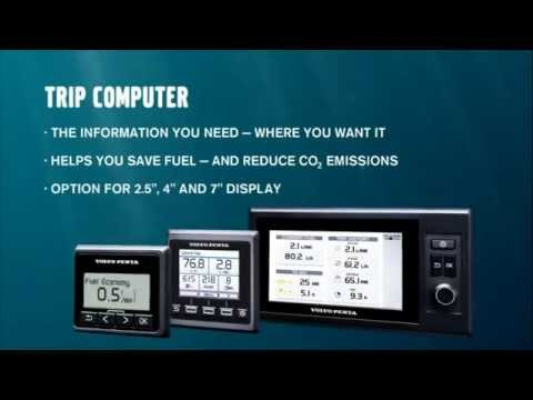 Boat Trip computer – Volvo Penta
