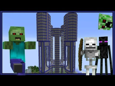 Minecraft Huge Mob Farm Crazy Fast 24,000+ Drops Per Hour!