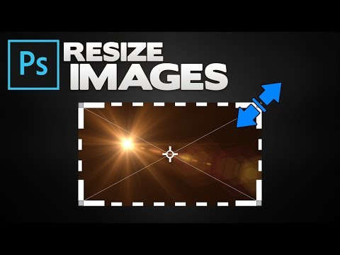 Photoshop: How To Resize Image (Edit, Change and Flip Images)
