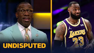LeBron James is right on schedule to make his return to Lakers — Shannon | NBA | UNDISPUTED