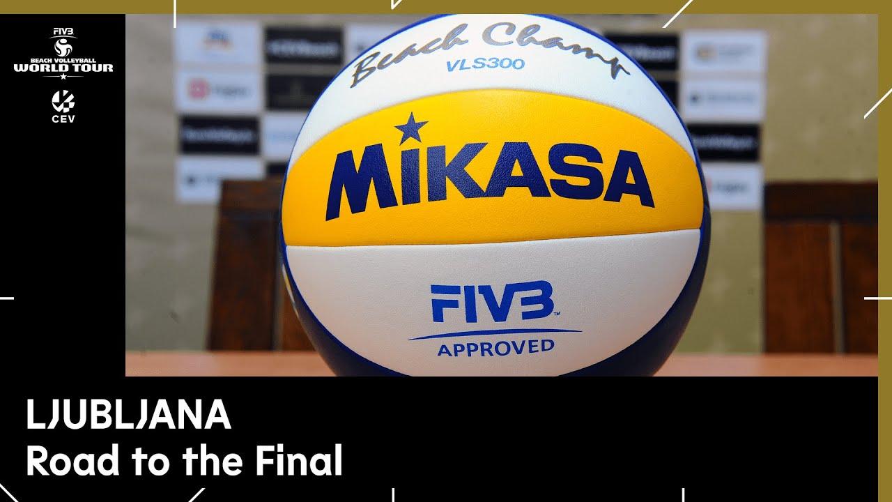Final Day I Beach Volleyball World Tour 1 Star Ljubljana