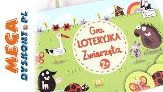 Loteryjka zwierzęta - Kapitan Nauka - Gry dla najmłodszych dzieci