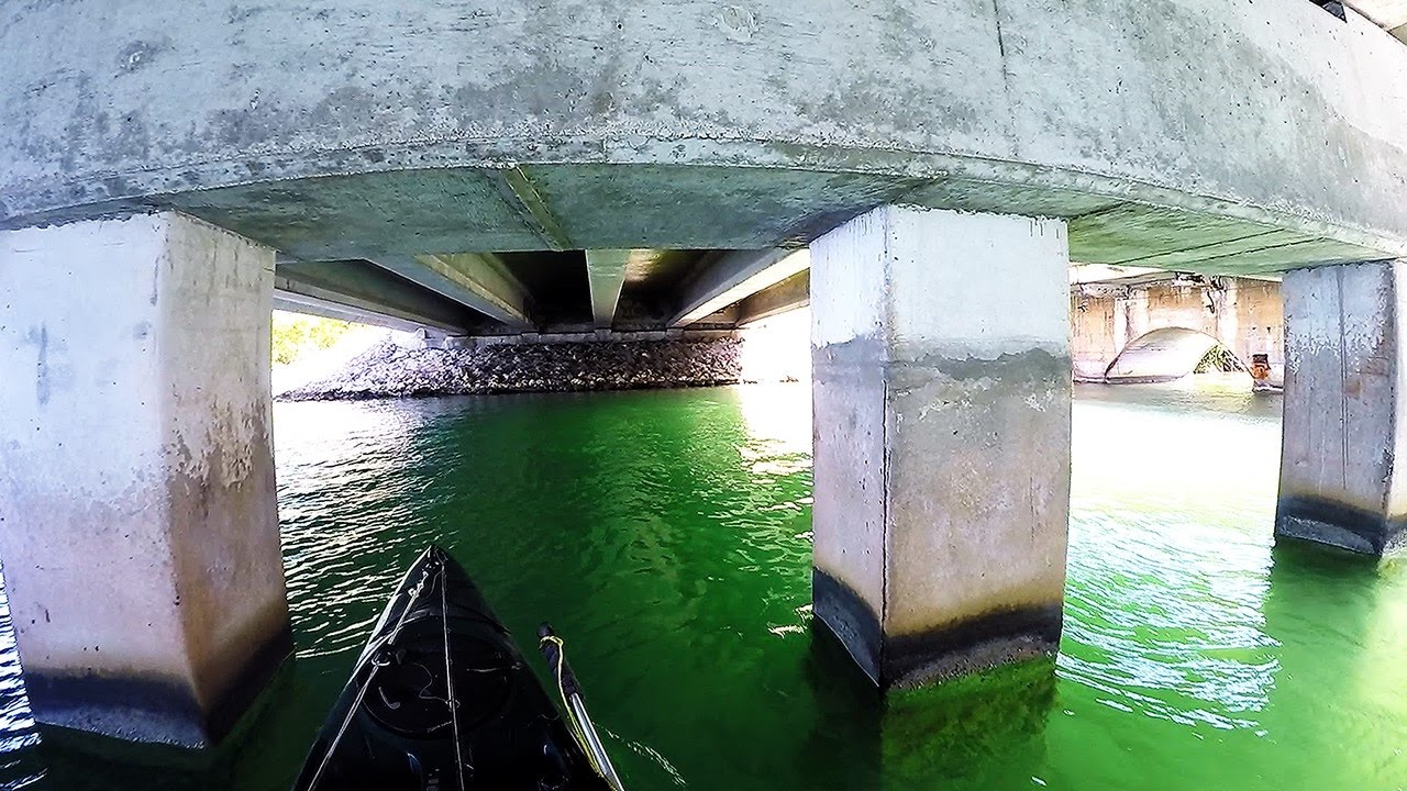 Key west kayak bridge fishing under the bridges youtube for Key west kayak fishing