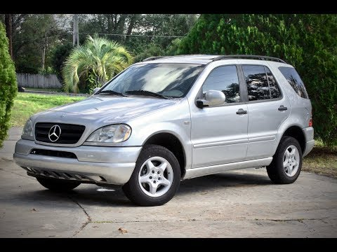 2000 Mercedes-Benz ML320 W163 Review And Test Drive