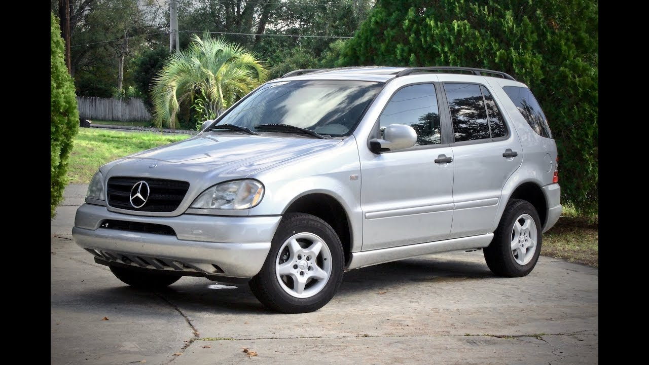 2000 mercedes benz ml320 w163 review and test drive youtube