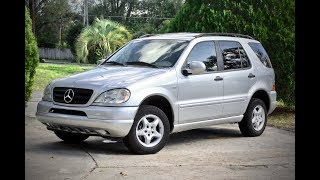 2000 Mercedes-Benz ML320 W163 …