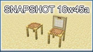 Minecraft Snapshot 18w45a (Swedish)