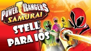 Jogos IOS - Power Rangers Samurai Steel - Power Rangers 3D no seu Iphone, Ipad e Ipod!