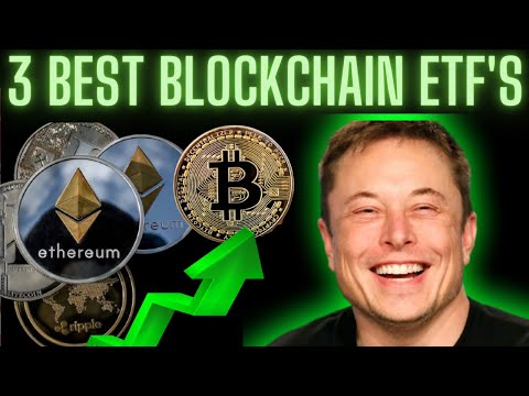 3 BEST BLOCKCHAIN ETF's | INDEX FUNDS | Crypto Currency investing |