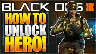 """Black Ops 3 """"Hero Gear"""" Gameplay!! How To UNLOCK Specialist Hero Armour (BO3 Classified Specialist)"""