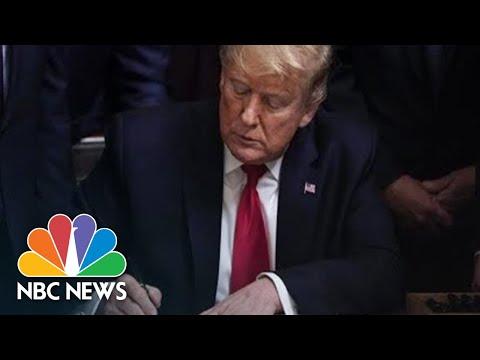 President Donald Trump Signs USMCA Trade Deal   NBC News (Live Stream)