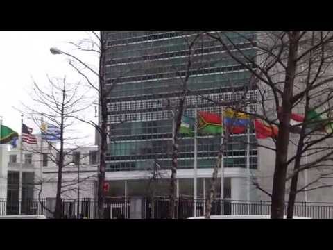 New York April 2015 - United Nations building