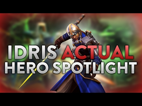 Vainglory Actual Hero Spotlight: Idris!