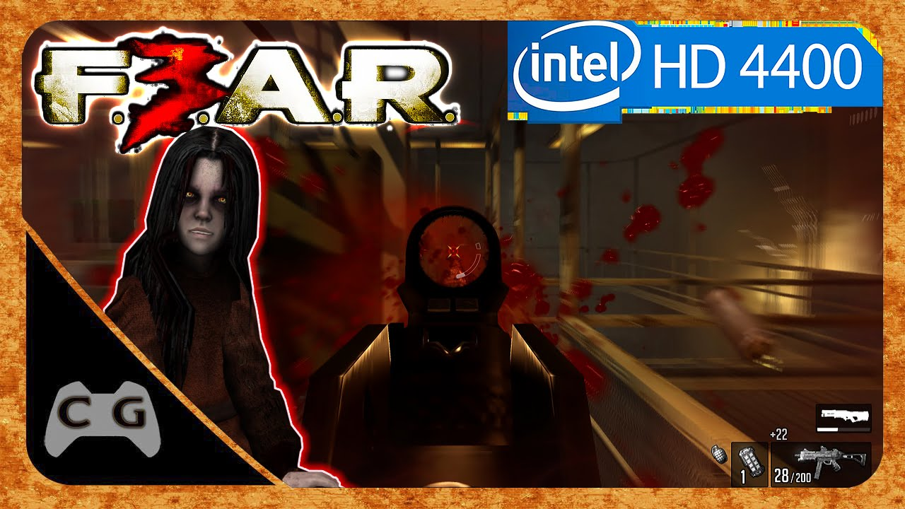 FEAR 3 Gameplay Teste Na Intel HD Graphics 4400 #173