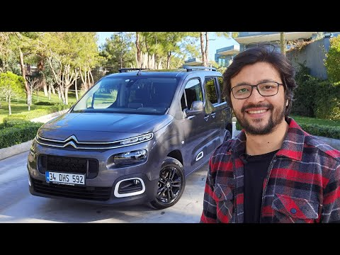 Citroen Berlingo Test Sürüşü - VW Caddy'den iyi mi?