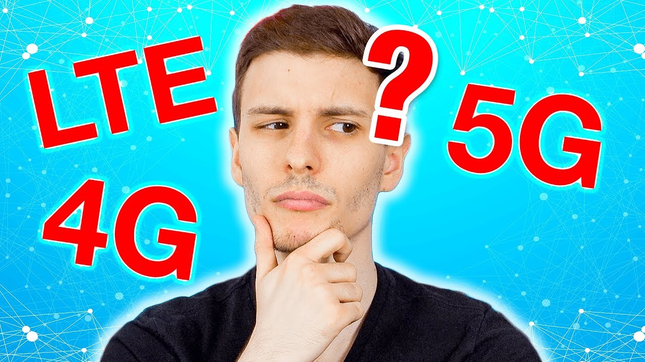 Download 4G vs LTE vs 5G? What's the difference?