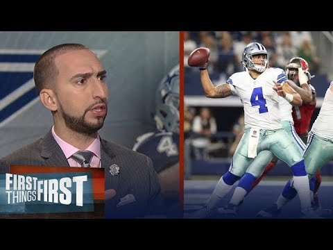 Dak Prescott a clock manager? DeAngelo Williams thinks so - Cris and Nick react | FIRST THINGS FIRST
