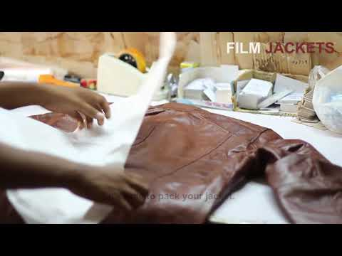 How We Make Leather Jackets | Packing, Stitching And Leather Detailing By Film Jackets