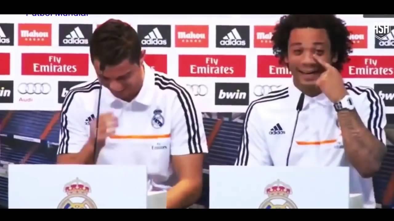 C Ronaldo & Marcelo – Những Khoảnh Khắc Hài Hước