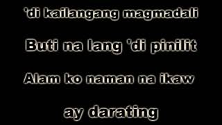 KAY TAGAL Mark Carpio - KARAOKE VERSION)