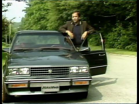 MotorWeek   Retro Review: '82 Vs '83 Cadillac Cimmaron