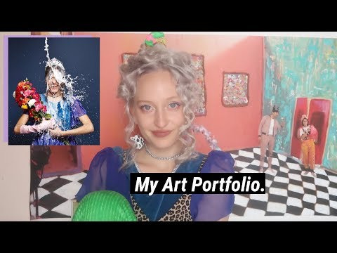My Accepted Art Portfolio + How To Get In To Art School In France
