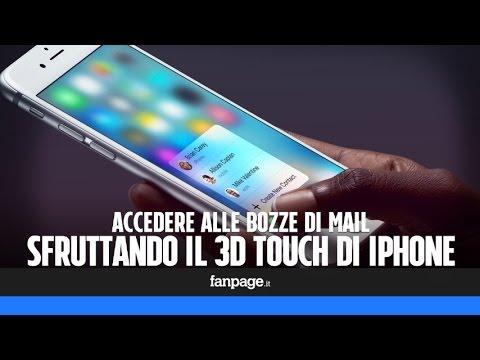 Accedere alle velocemente alle bozze in Mail di iPhone sfruttando il 3D Touch