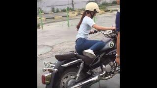 2종 소형면허 한방합격/여자 (Motorcycle license in Korea )♥