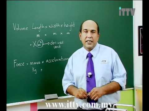iTTV SPM Form 4 Physics Chapter 1 Understanding Physics - Tuition/Lesson/Exam/Tips