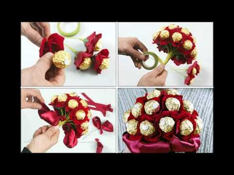 Как красиво оформить конфеты