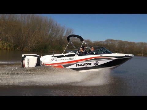 Esloras Tv Lancha Quicksilver Marine Sur 2000 Motor Evinrude E tec G2
