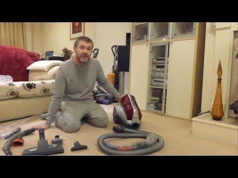 Review: Hoover Turbo Power Cylinder bagless vacuum cleaner TTU1510 (2011) (UK)