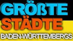100 GRÖßTE Städte Baden-Württembergs