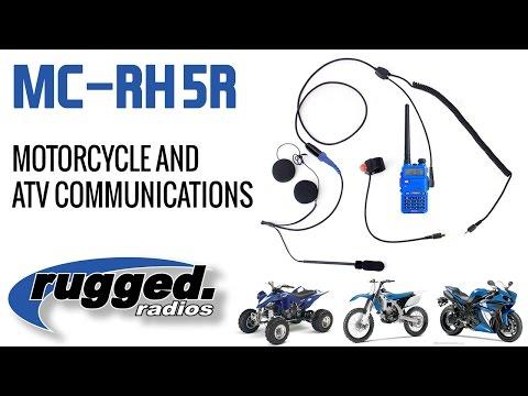Rugged Radios : Moto and ATV 2-Way Communications - YouTube