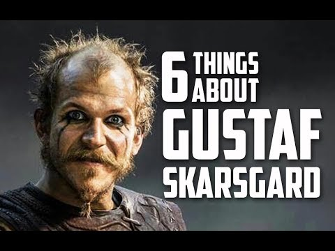 6 Things You May Not Know About Gustaf Skarsgård Floki actor in Vikings