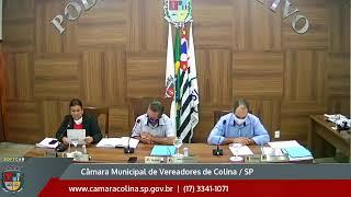 Câmara Municipal de Colina - 7ª Sessão Extraordinária 10/07/2020