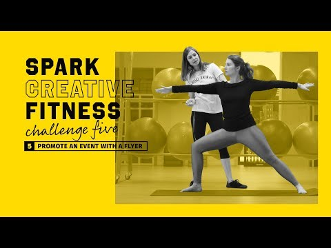 Adobe Spark Creative Fitness Challenge 5: Promote an Event