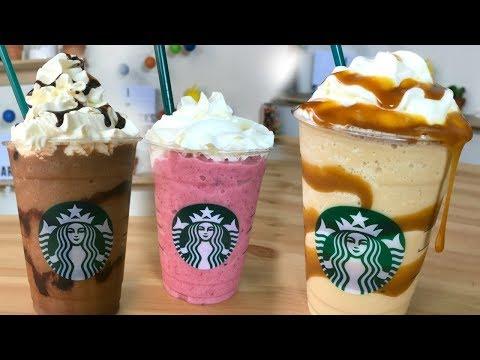 ¡Haz Frappucinos de Starbucks en tu Casa! | RebeO