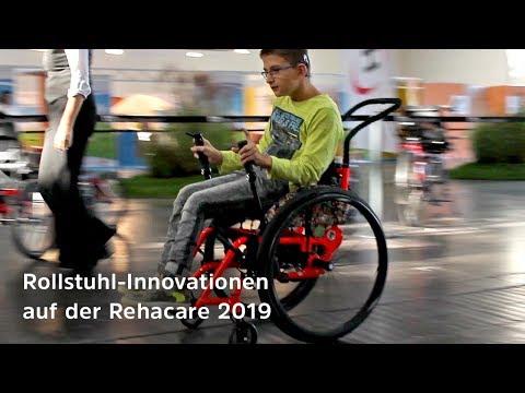 Tolle Rollstuhl-Neuheiten auf der Rehacare 2019 - Kinderrollstuhl - Druckmessung