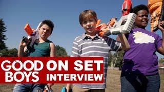 'Good Boys' On Set Interview